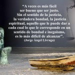 Bondad y justicia