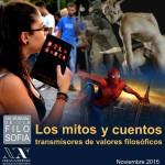 Programa de congresos, jornadas y eventos del Día Mundial de la Filosofía 2015