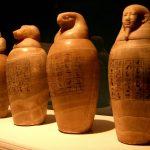 Nueva Acrópolis - Egipto, vasos canópicos