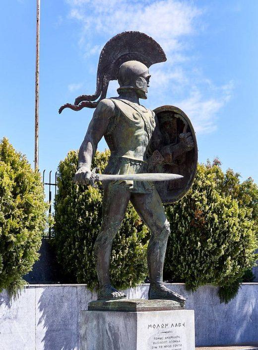 Leónidas en Esparta